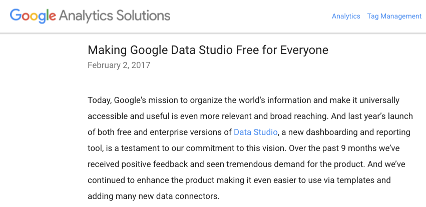 Analytics_Blog__Making_Google_Data_Studio_Free_for_Everyone