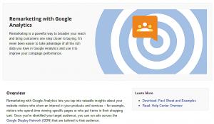 Google Remarketing 再行銷 – 對更有機會成交的訪客投放廣告