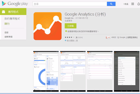 Google Analytics 應用程式介紹封面