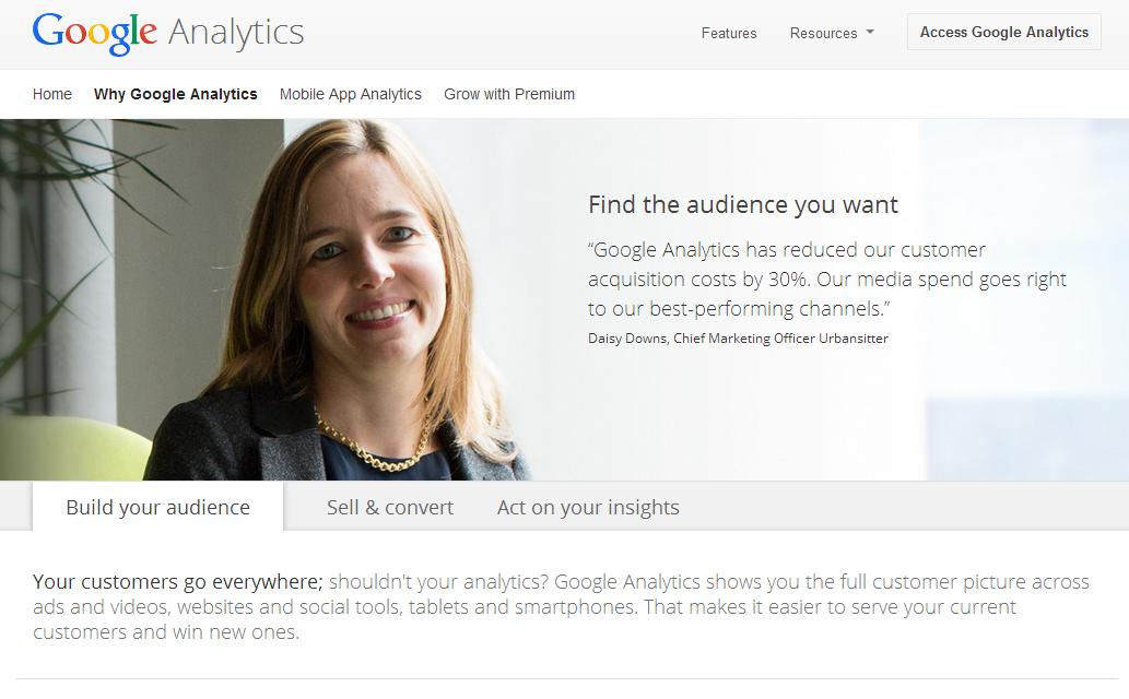 Why Google Analytics – 請先了解網站訪客輪廓再來談策略吧