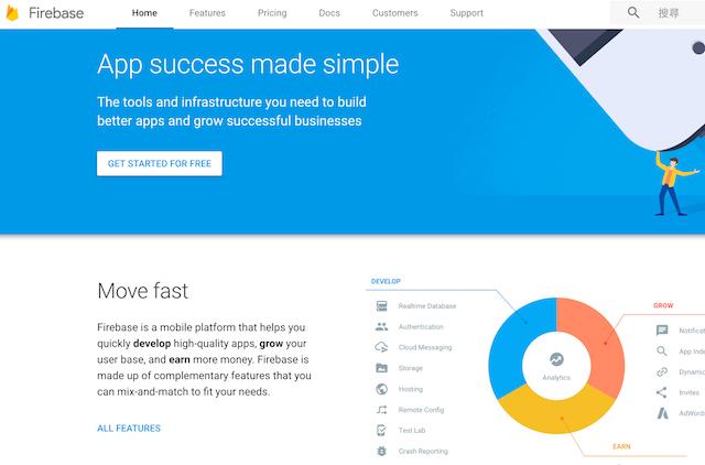 Firebase, Google Analytics 360 Suite 等 2016 年軟體應用觀察與探討