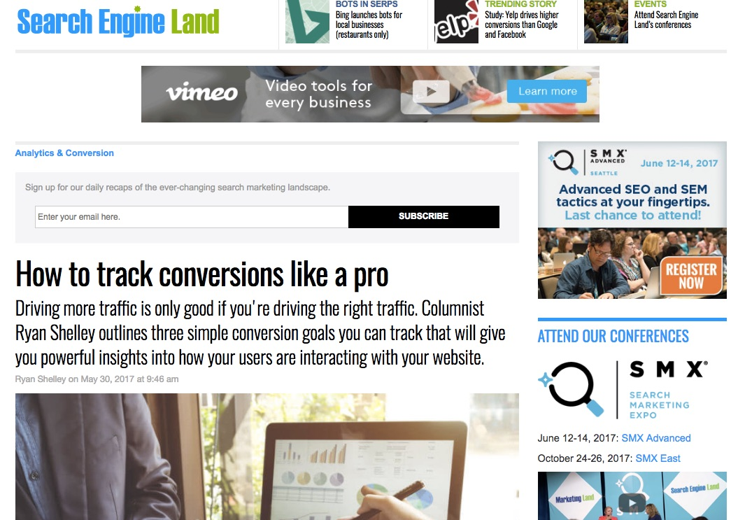 how to track conversions like a pro