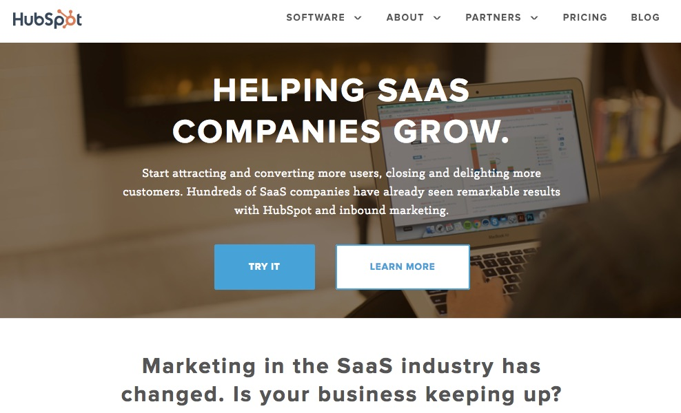 HubSpot is a SaaS that hleping SaaS