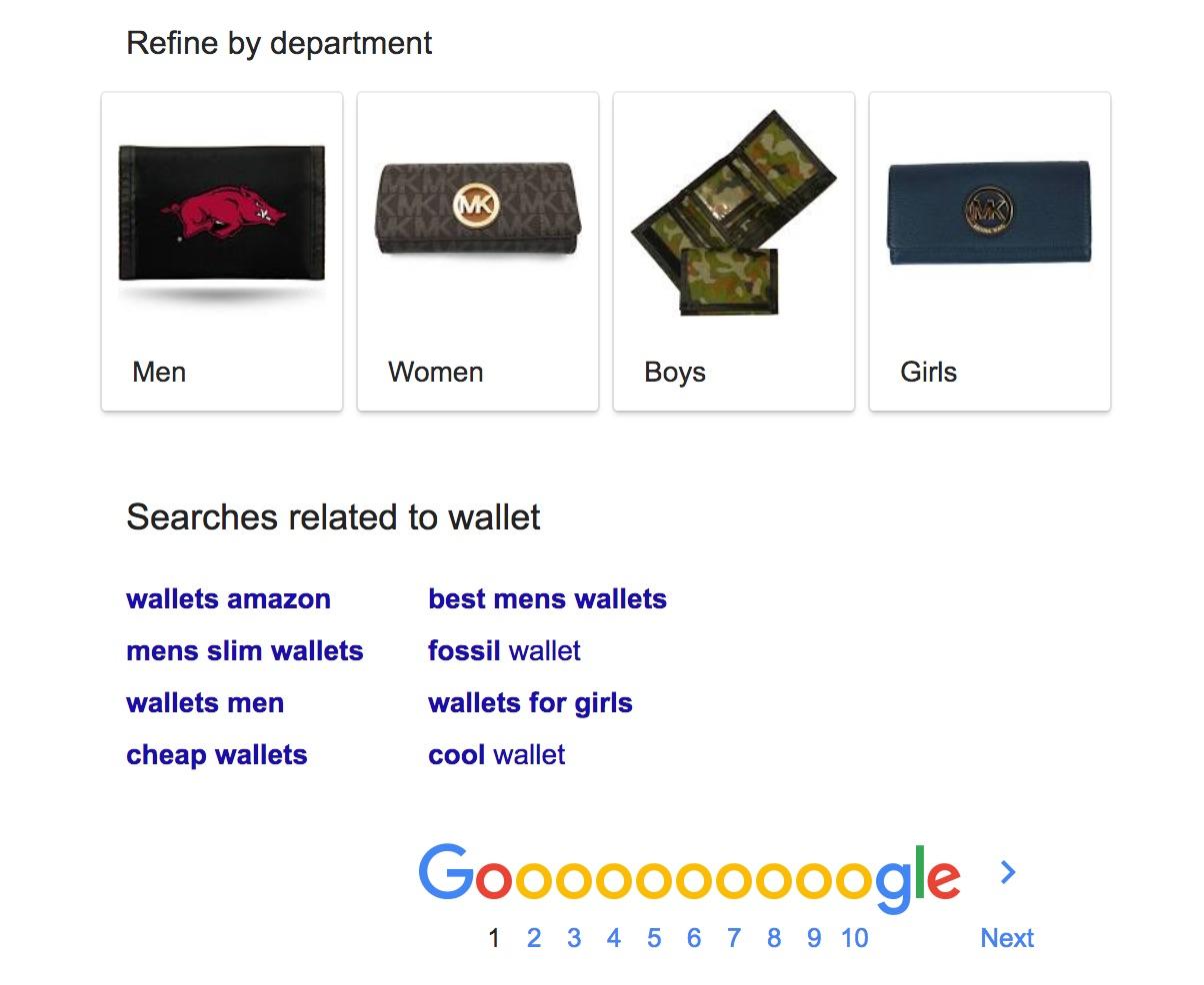 搜尋 wallet