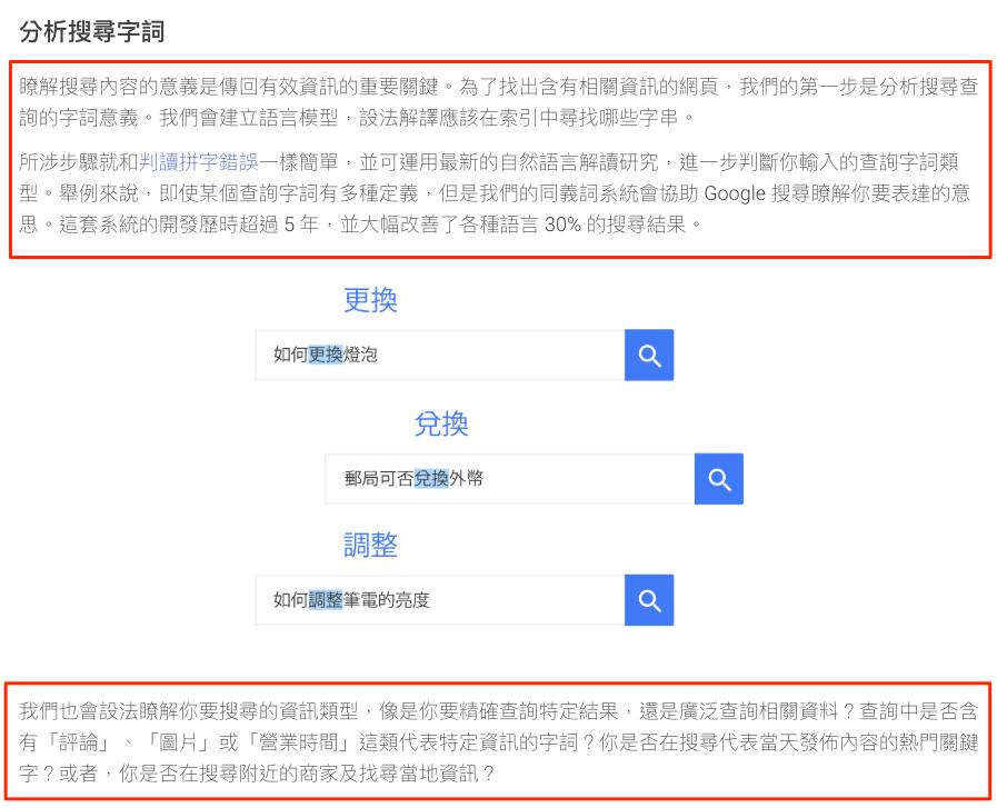 Google 搜尋運作原理介紹