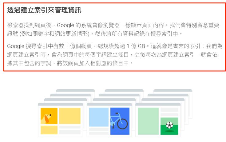 Google 搜尋運作原理之索引篇