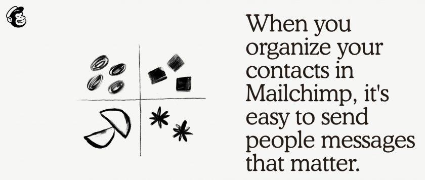 Mailchimp 區隔功能