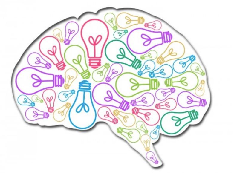 大腦。創造